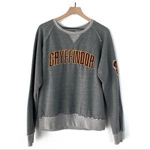 Harry Potter Heathered Gray Gryffindor Sweatshirt
